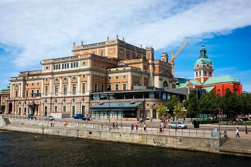 Royal Opera House de Estocolmo en Norrmalm - visitar Estocolmo