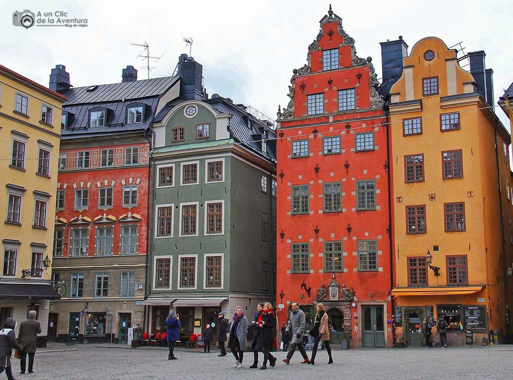 Plaza Stortorget - que ver en Estocolmo