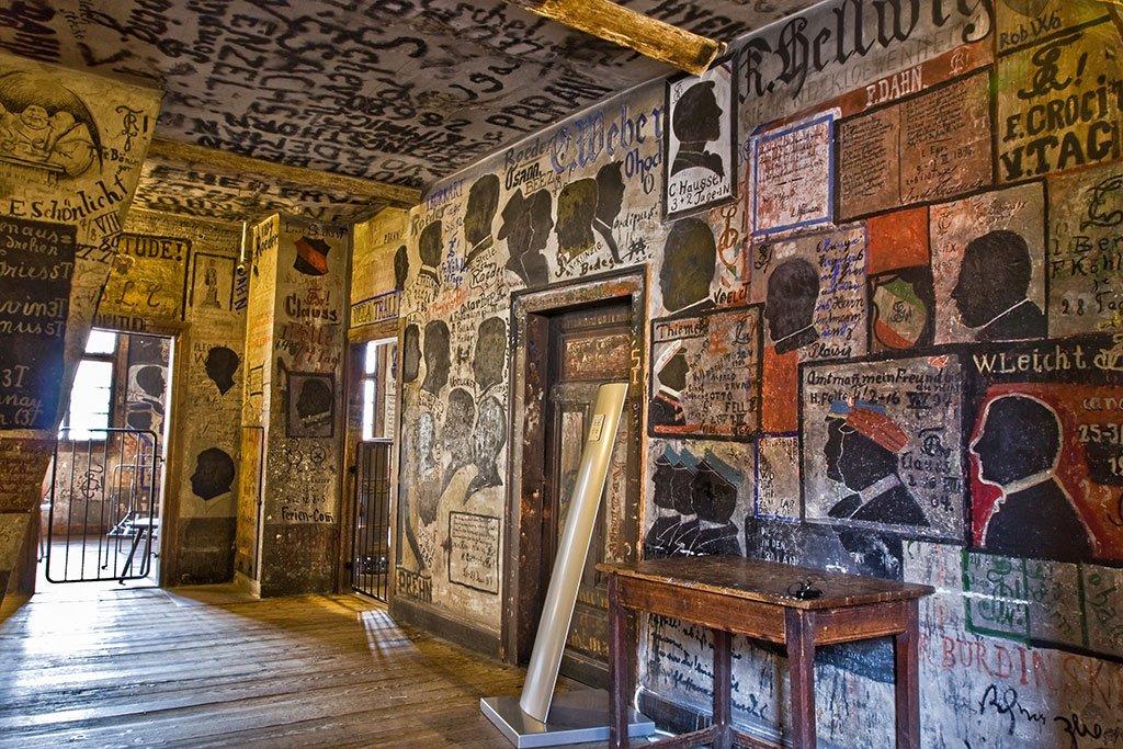 Studentenkarzer o cárcel de estudiantes de Heidelberg - que ver en Heidelberg