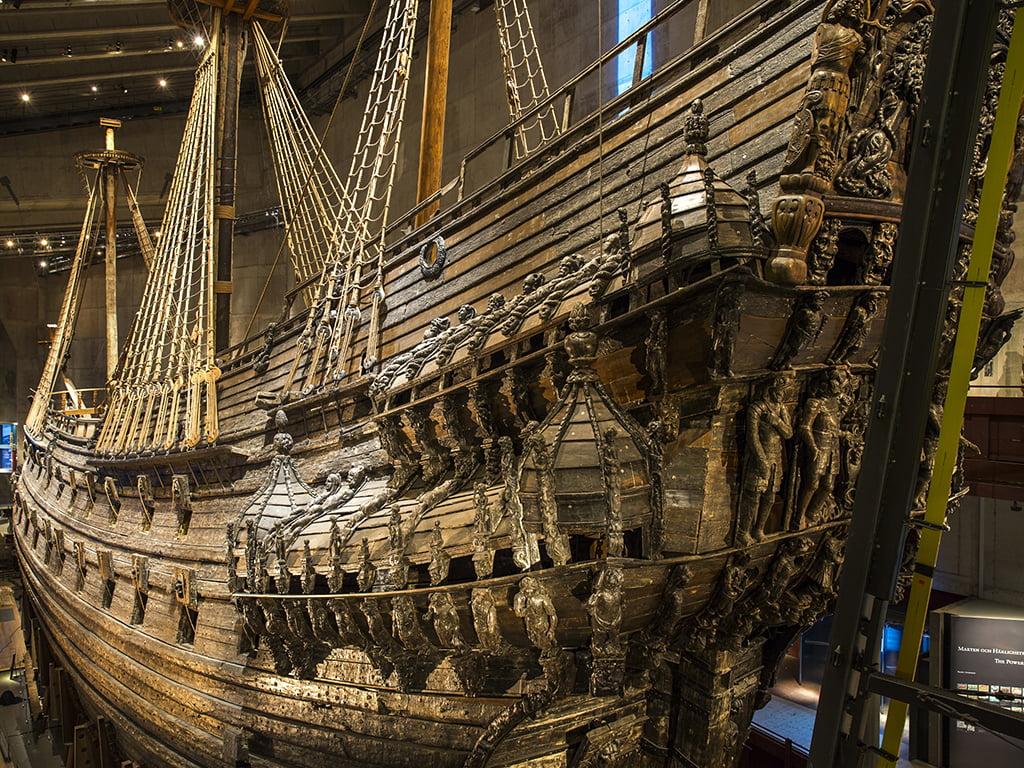Navío Real Vasa - que ver en Estocolmo