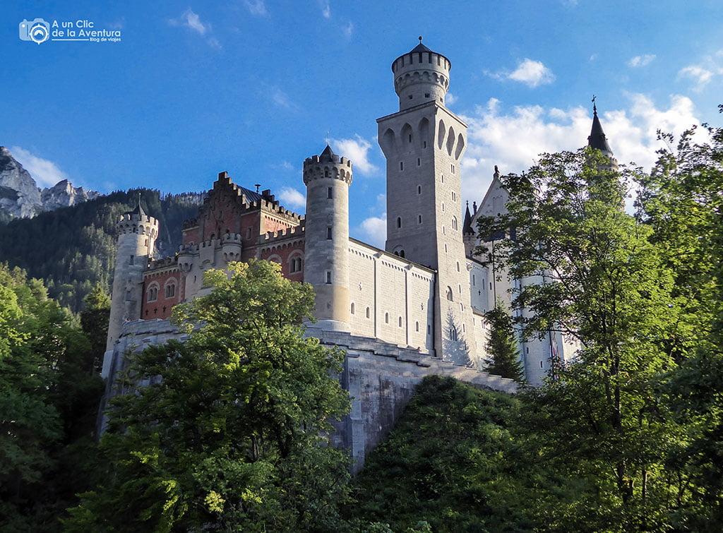 Torres del Castillo de Neuschwanstein