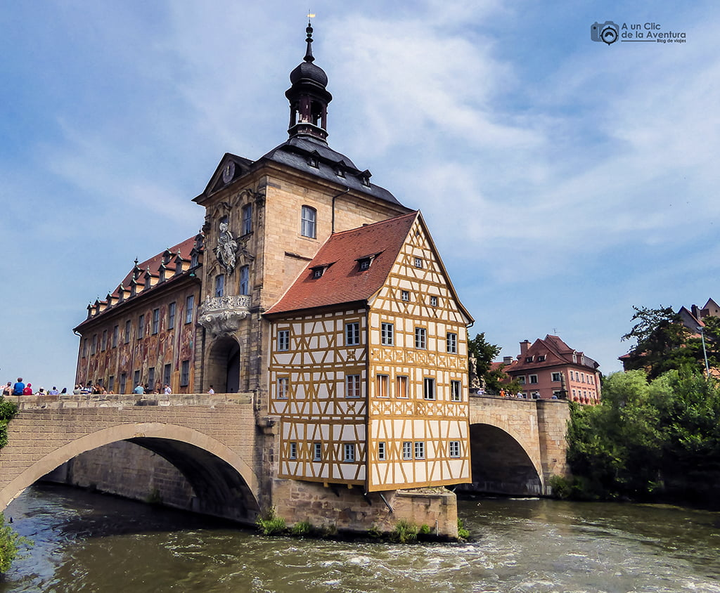 Ayuntamiento de Bamberg - viaje a Baviera y Tirol
