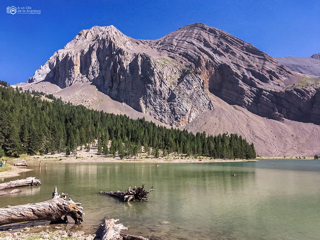 Ibón de Plan o Basa la Mora - lagos de montaña