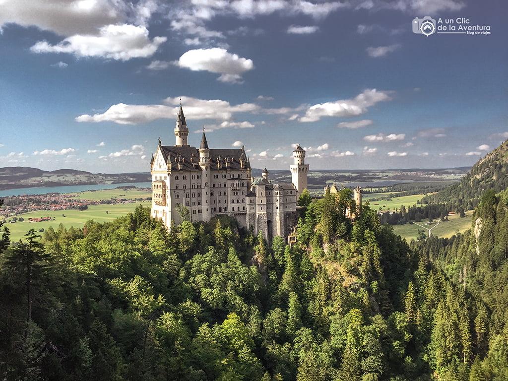Castillo de Neuschwanstein - viaje a Baviera y Tirol