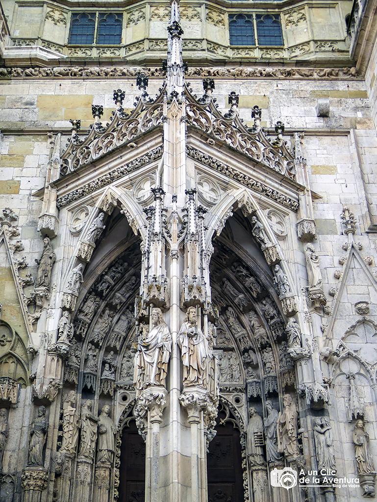 Catedral de San Pedro en Regensburg o Ratisbona - viaje a Baviera y Tirol