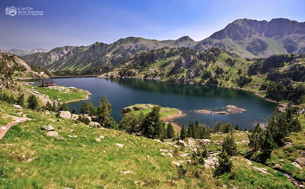 Estanh Major de Colomers - lagos de montaña