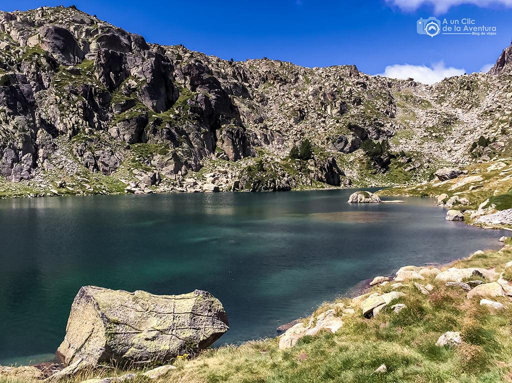 Estany Gran d´Amitges - lagos de montaña