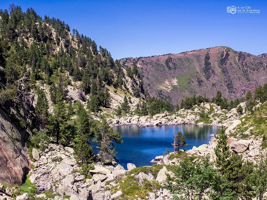Estany del Mig, lagos de Gerber - lagos de montaña
