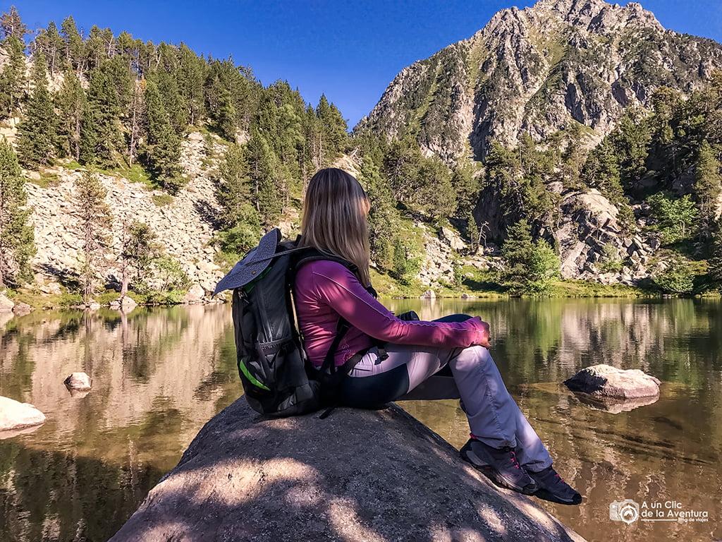 Estanyola de Gerber - lagos de montaña
