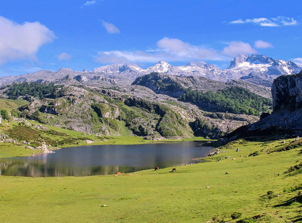 Lago Ercina, Lagos de Covadonga - lagos de montaña