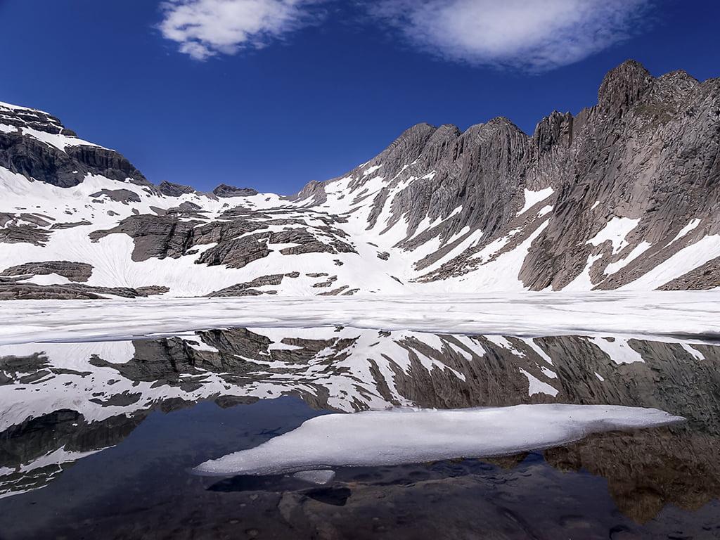 Lago de Marboré, Parque Nacional de Ordesa y Monte Perdido - lagos de montaña