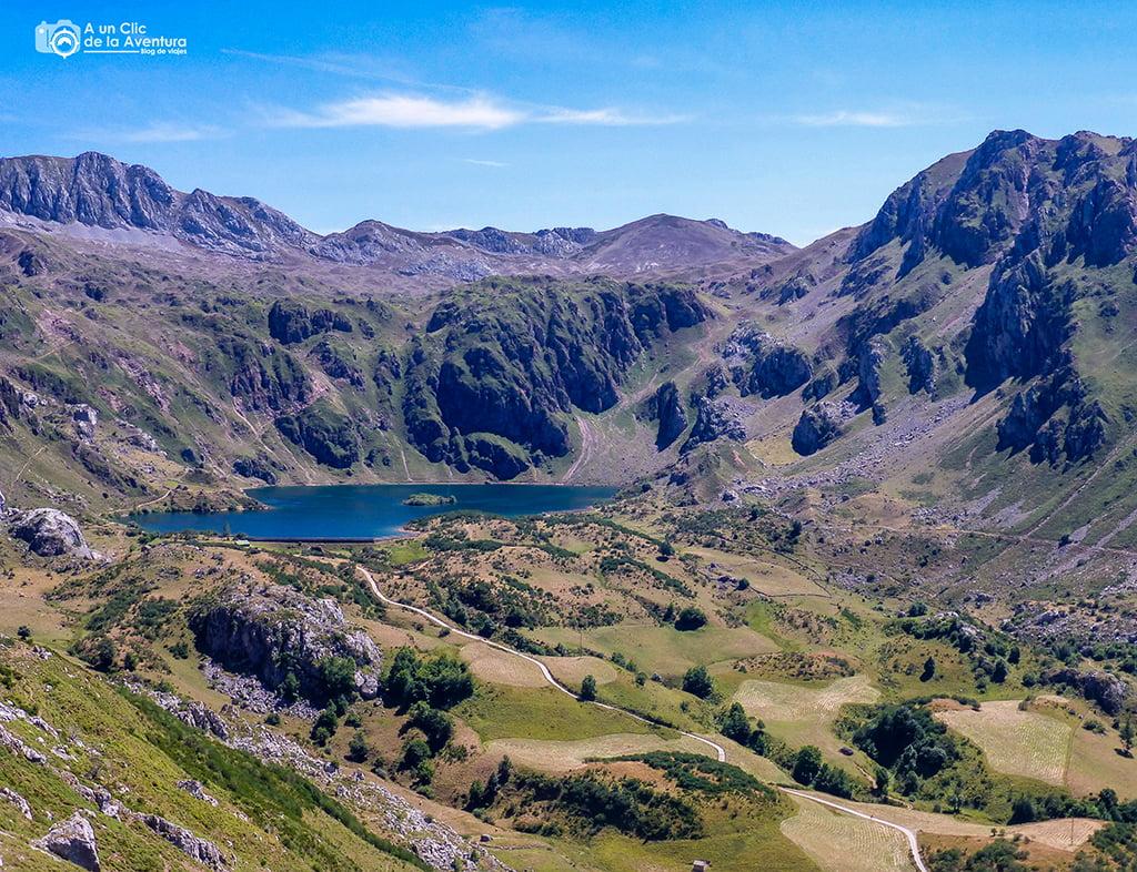 Lago del Valle, Parque Natural de Somiedo - lagos de montaña