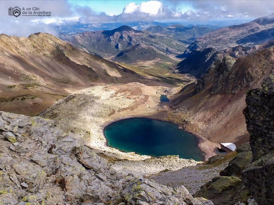 Laguna de Fuentes Carrionas - lagos de montaña