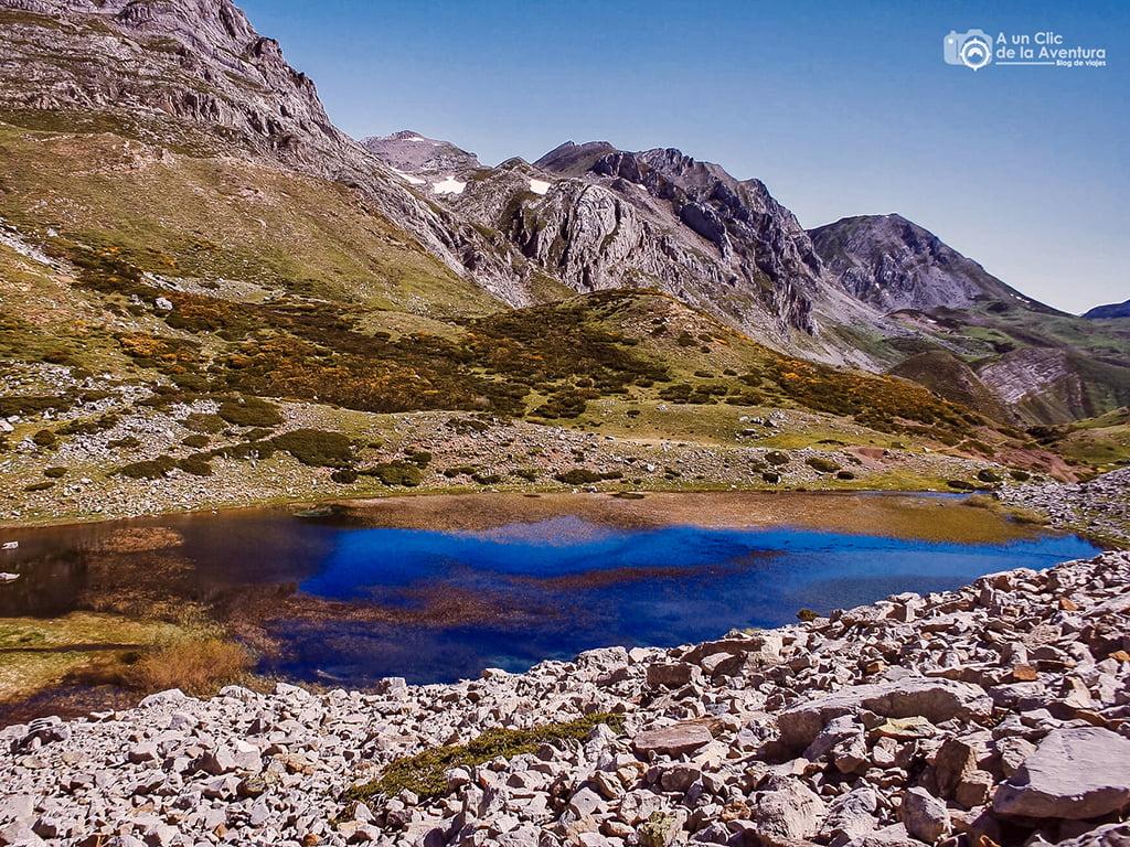 Laguna de las Verdes, Babia - lagos de montaña
