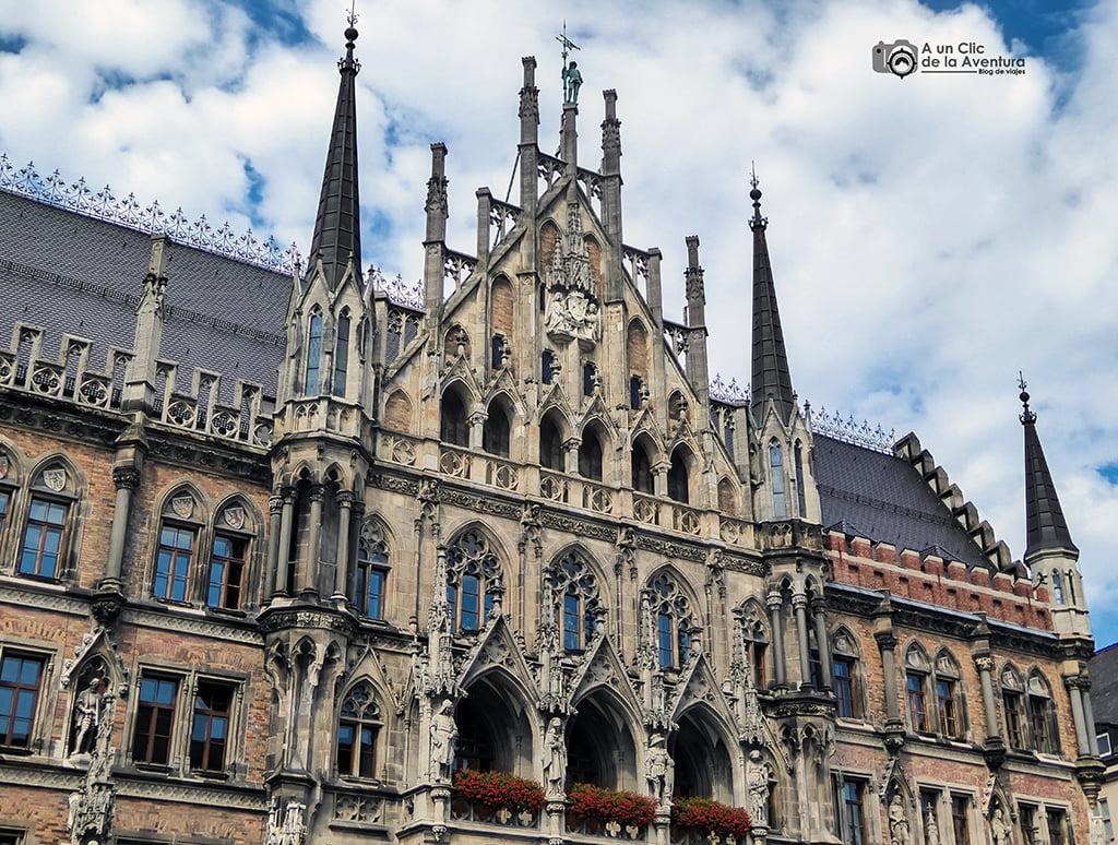 Nuevo Ayuntamiento de Múnich - viaje a Baviera y Tirol