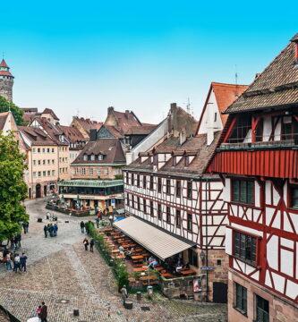 Núremberg desde las murallas. Viaje a Baviera y Tirol
