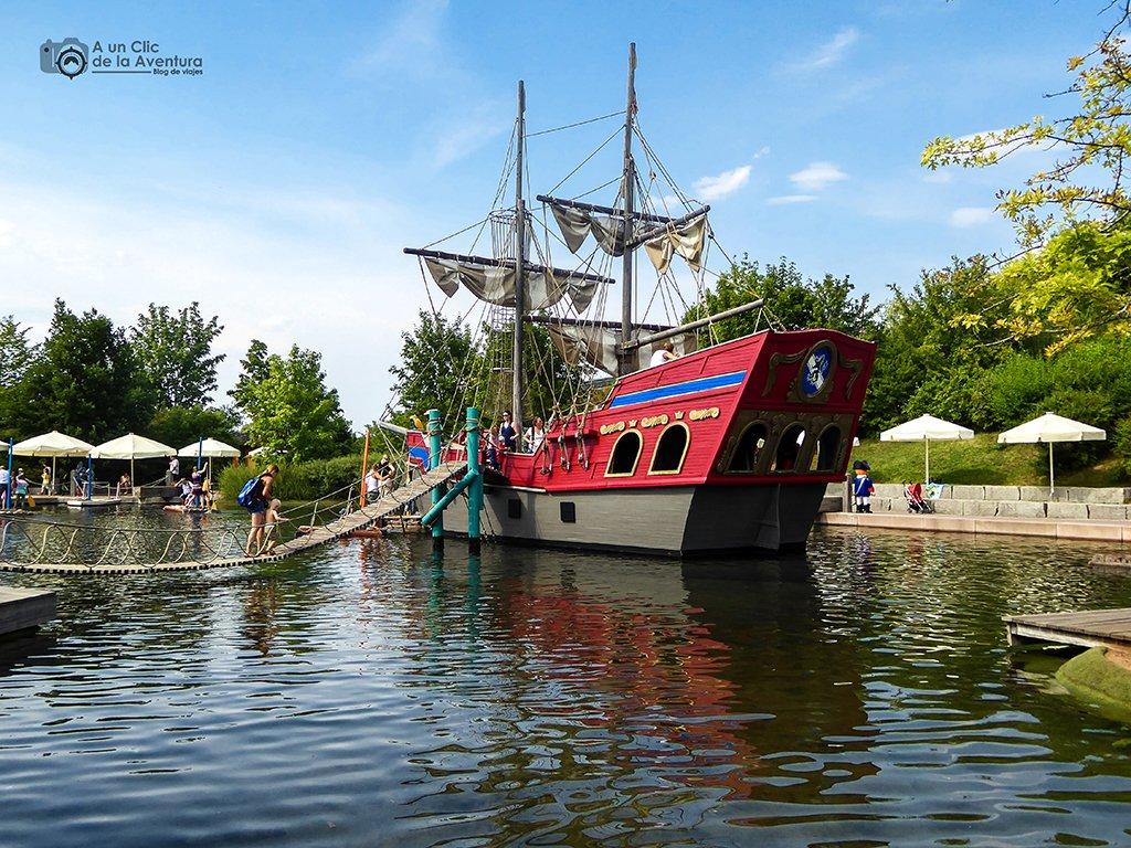 Barco del Playmobil Fun Park - viaje a Baviera y Tirol
