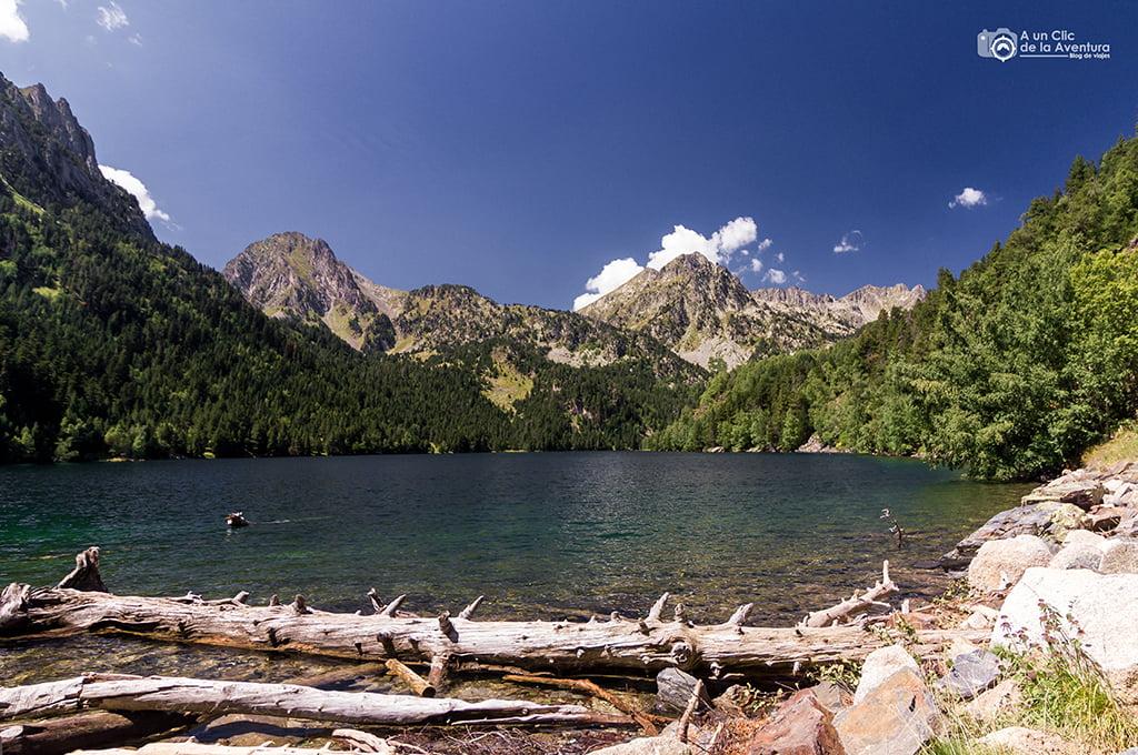 Estany de Sant Maurici - lagos de montaña