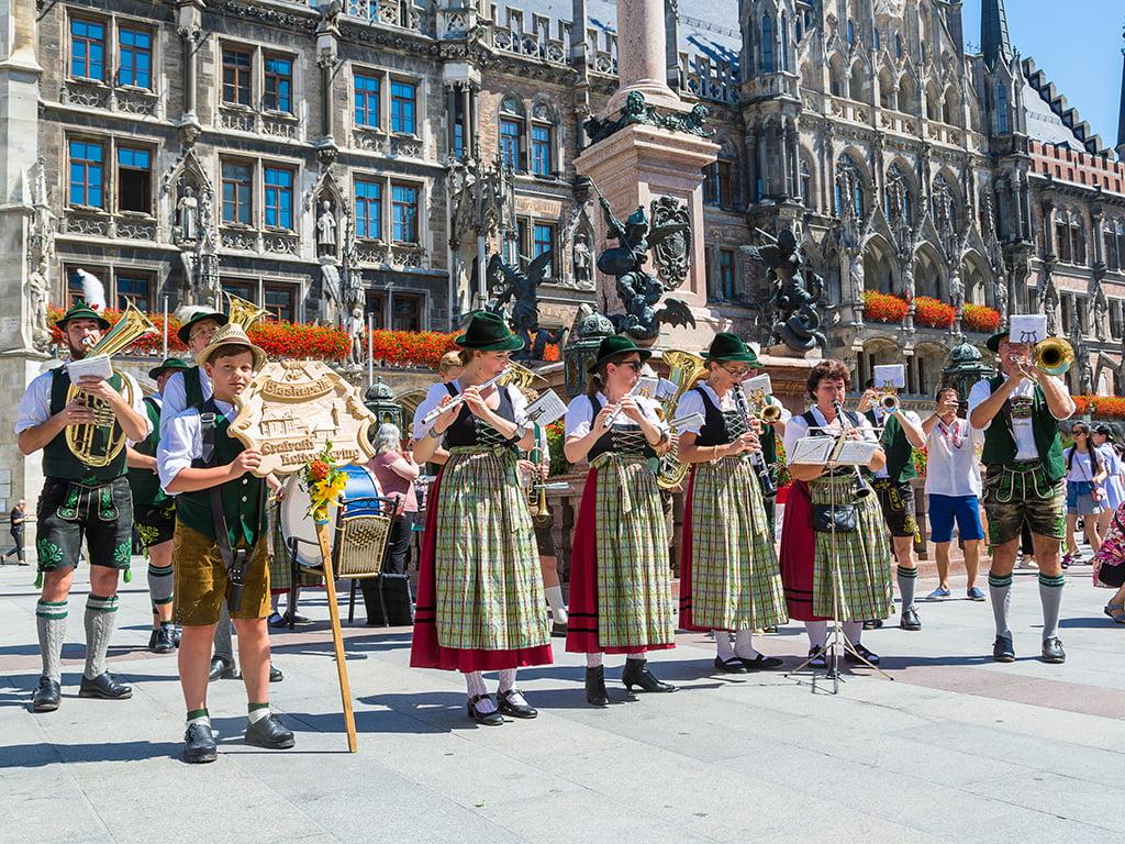 Trajes típicos de Baviera - viaje a Baviera y Tirol