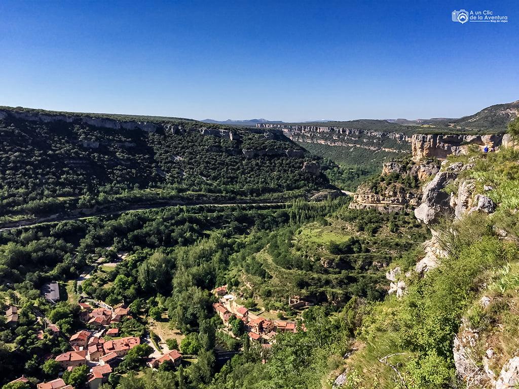 Vistas del entorno de Valdelateja - que hacer en Burgos