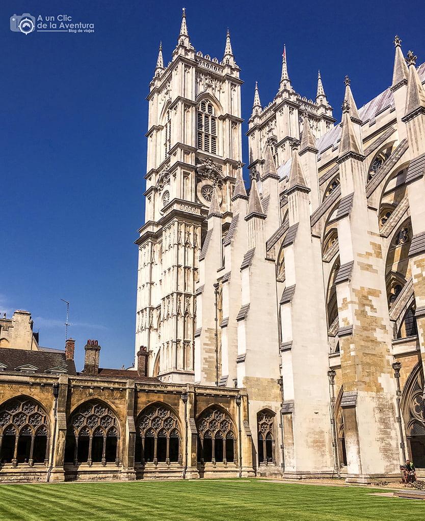 Claustro de la Abadía de Westminster, Londres en dos días