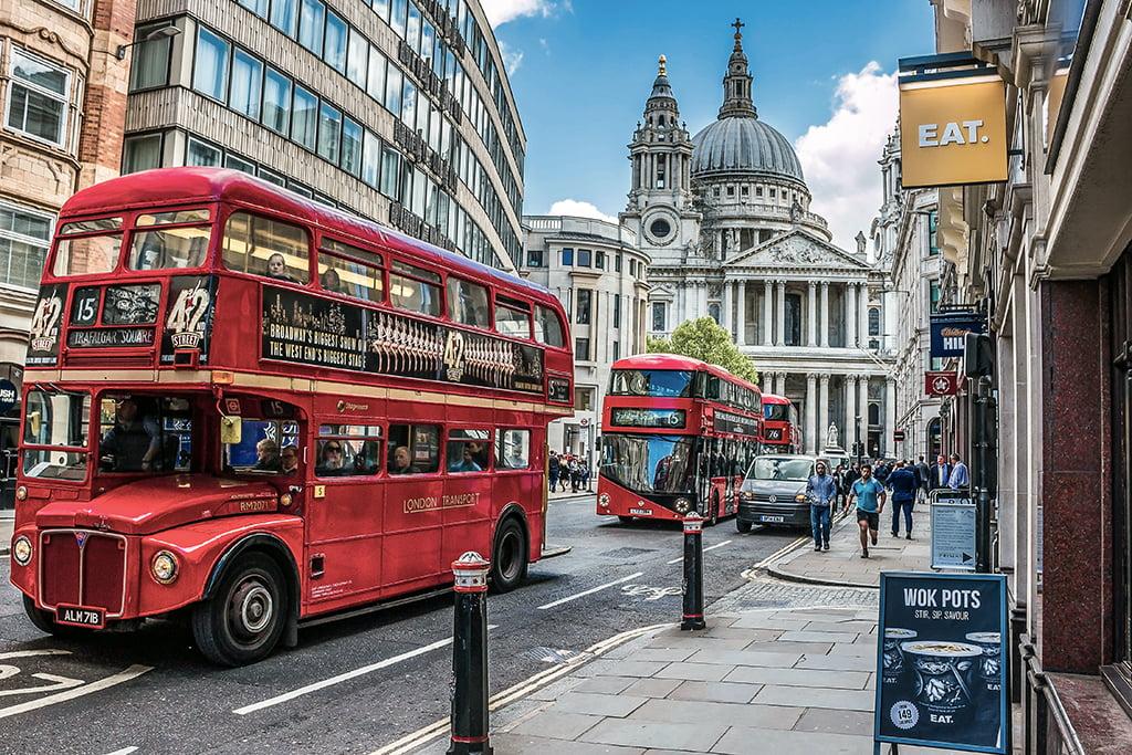 Autobuses rojos de Londres
