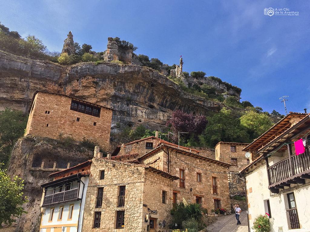 Calle de Orbaneja del Castillo - pueblos bonitos de Castilla y León