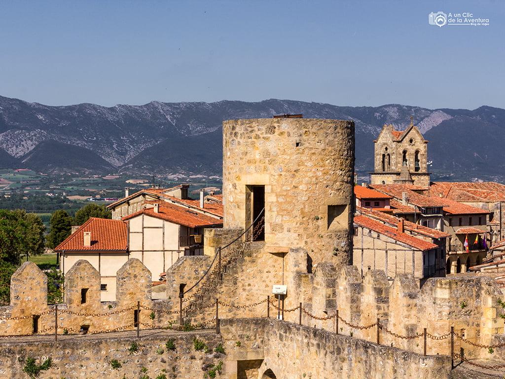Frías desde el Castillo - pueblos bonitos de Castilla y León