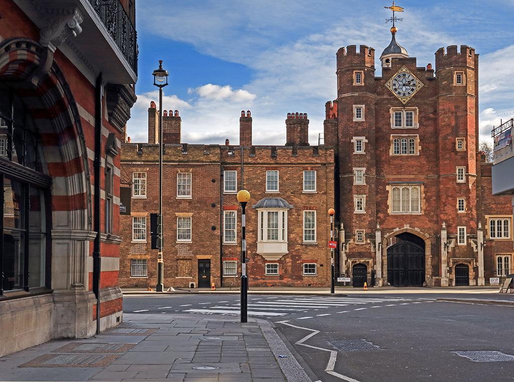 Palacio de St. James, Londres en dos días