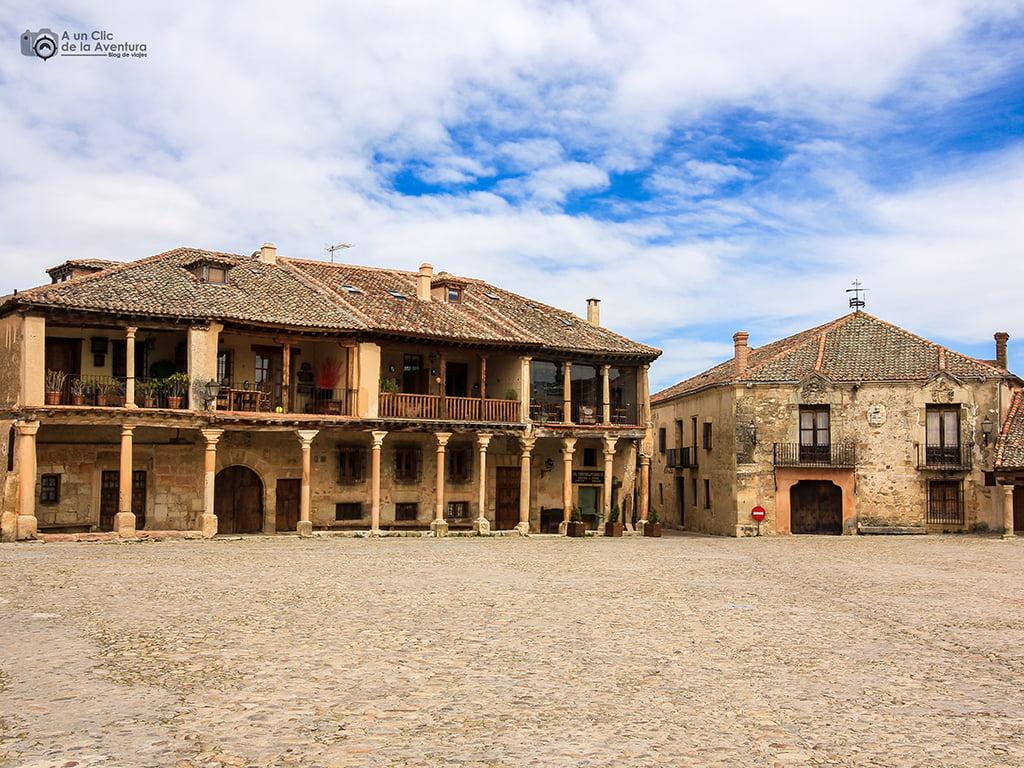 Plaza Mayor de Pedraza - pueblos bonitos de Castilla y León