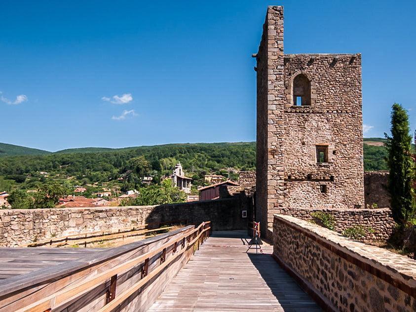 Castillo de San Martín del Castañar - pueblos bonitos de Castilla y León