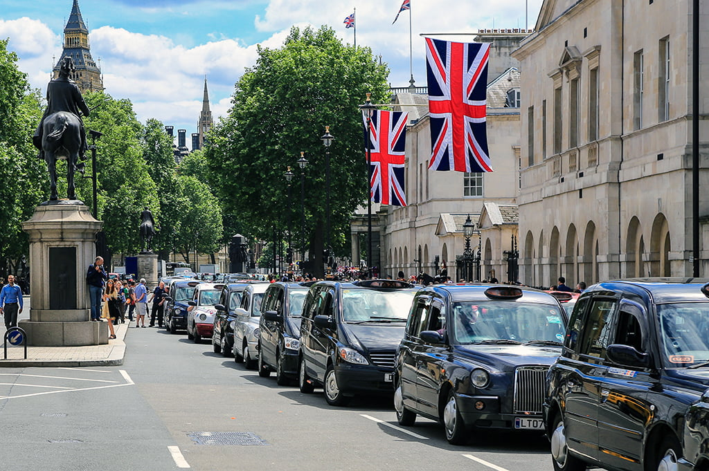 Taxis de Londres o Black Cabs