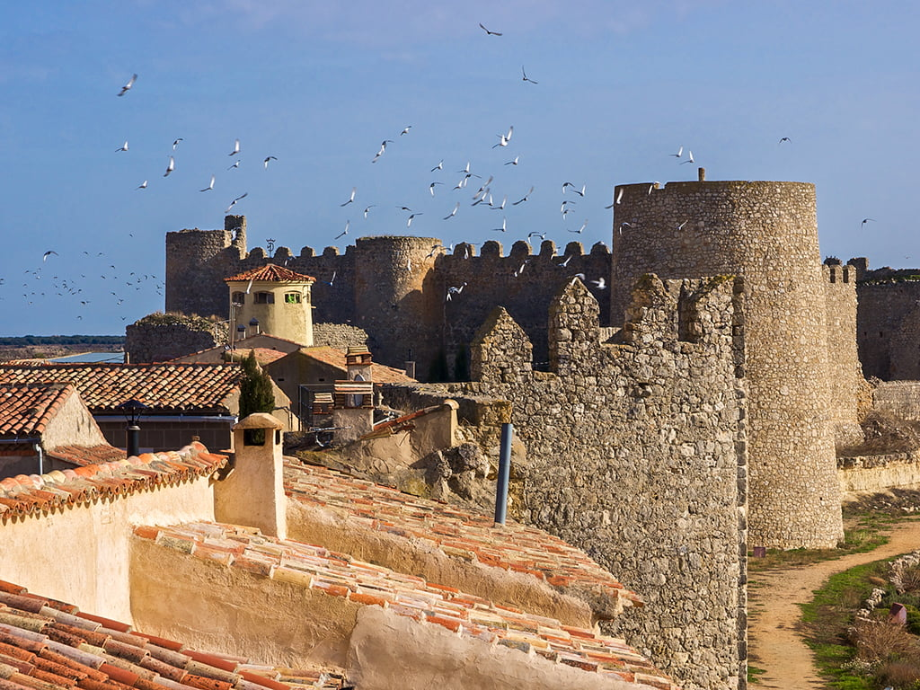 Urueña desde las murallas - pueblos bonitos de Castilla y León