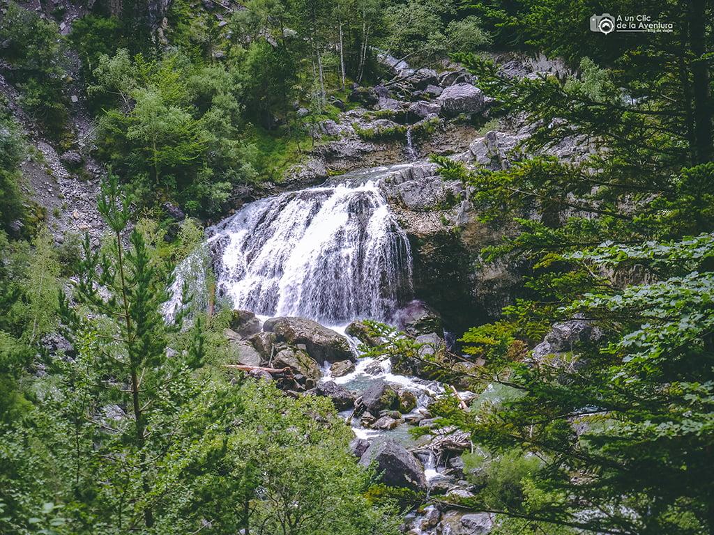 Cascada de Arripas, Cascadas del Pirineo Aragonés