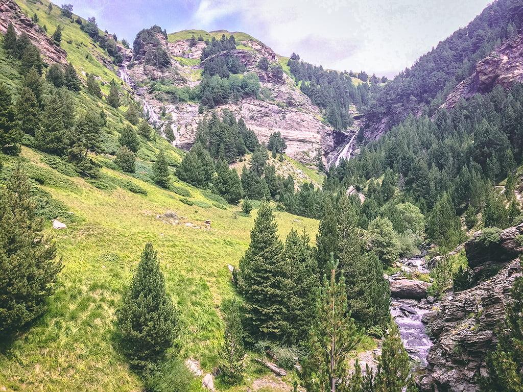 Cascadas de Ardonés, Cascadas del Pirineo Aragonés