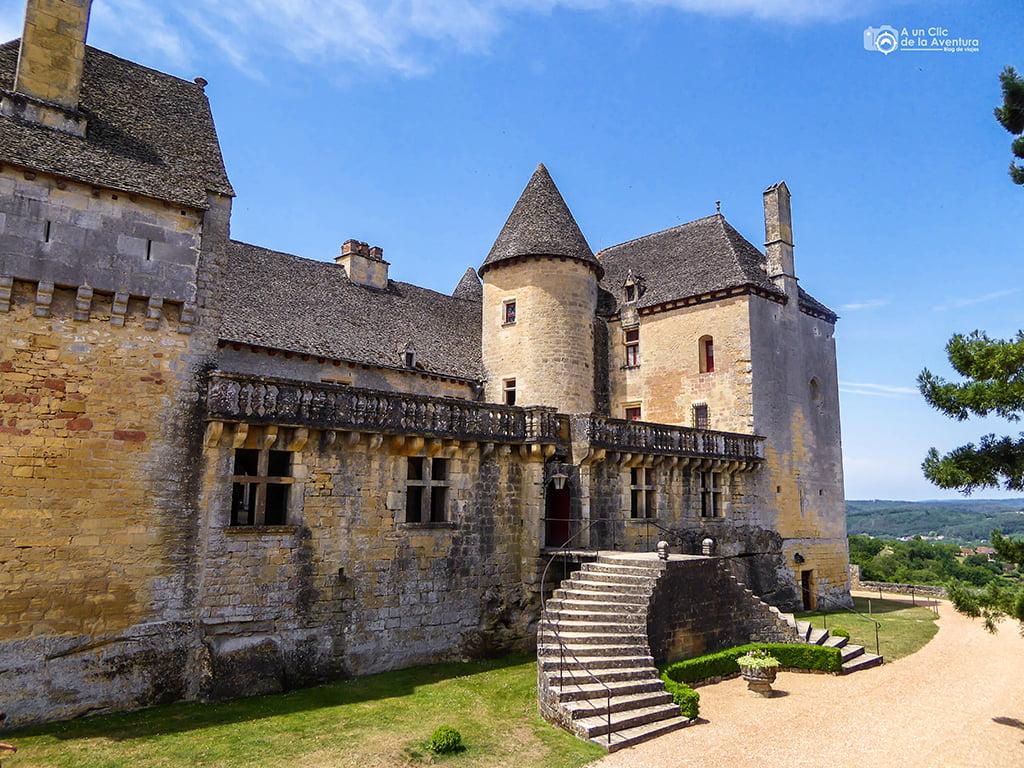Castillo de Fenelon, ruta por el Perigord Negro y la Dordoña