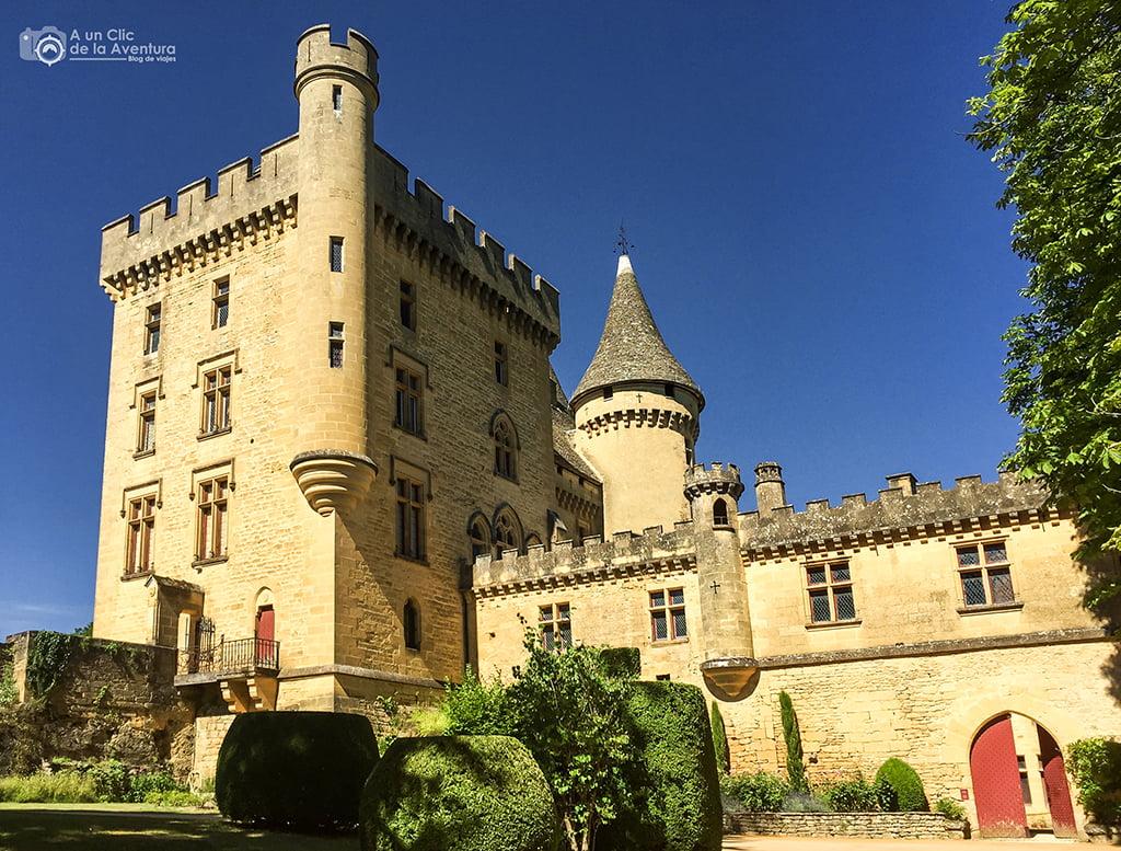 Castillo de Puymartin en el Perigord Negro