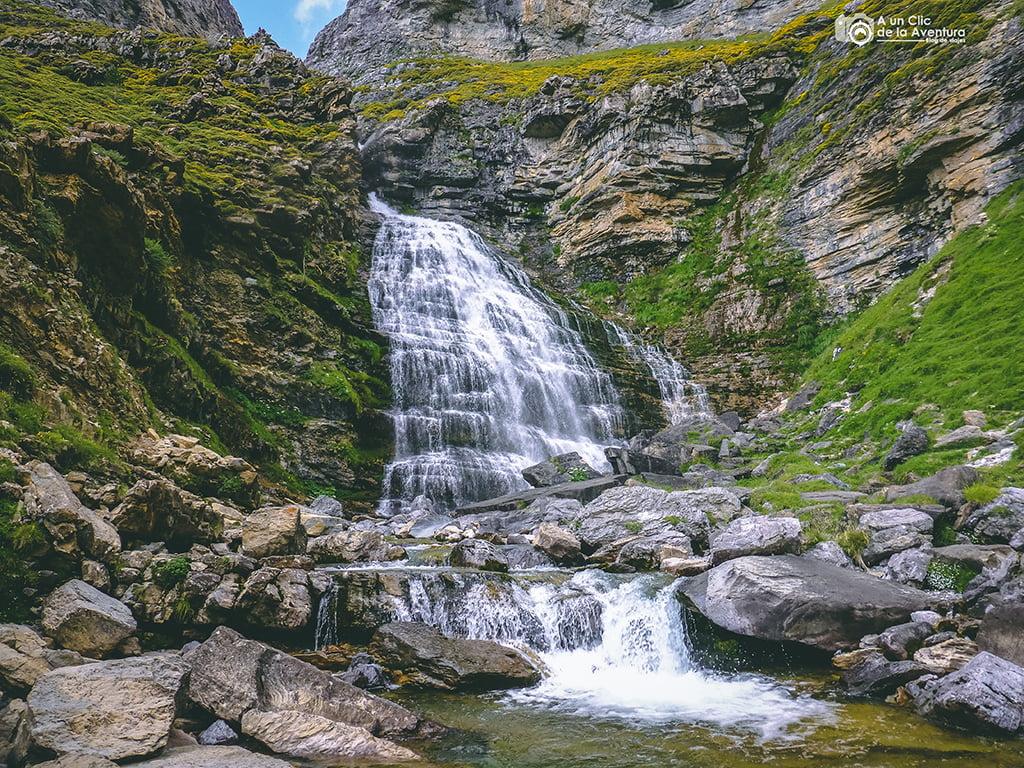 Cascada Cola de Caballo, Cascadas del Pirineo Aragonés