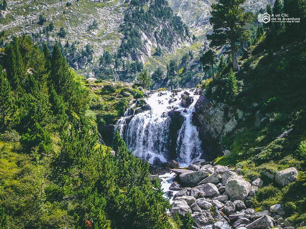Salto d'Aigualluts, Cascadas del Pirineo Aragonés