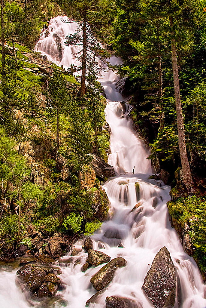 Gorgas de Alba, Cascadas del Pirineo Aragonés