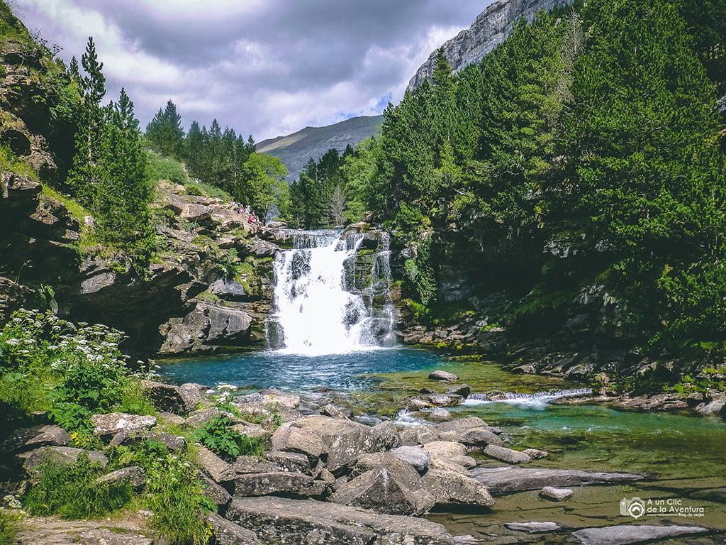 Gradas de Soaso, Cascadas del Pirineo Aragonés