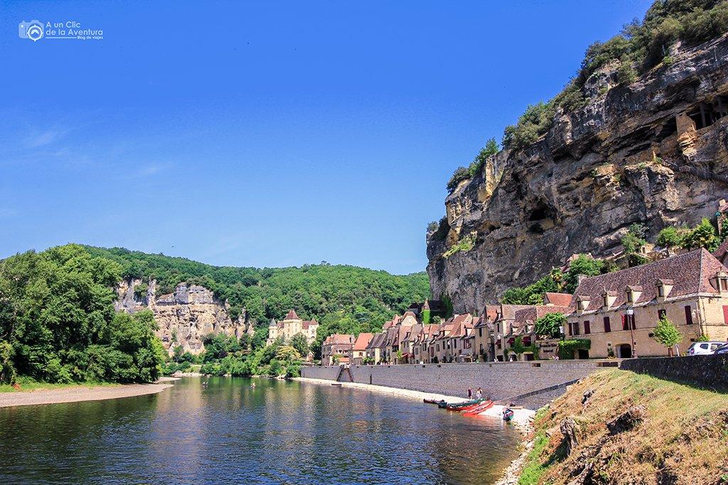 La Roque-Gageac, ruta por el Perigord Negro y la Dordoña