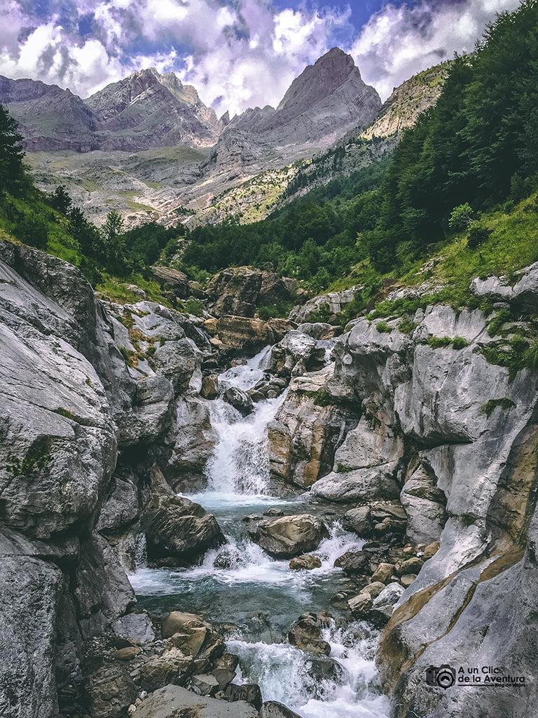 Valle de Pineta, Cascadas del Pirineo Aragonés