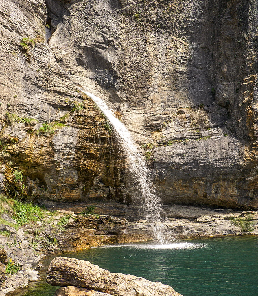 Saldo de Escarrilla, Cascadas del Pirineo Aragonés