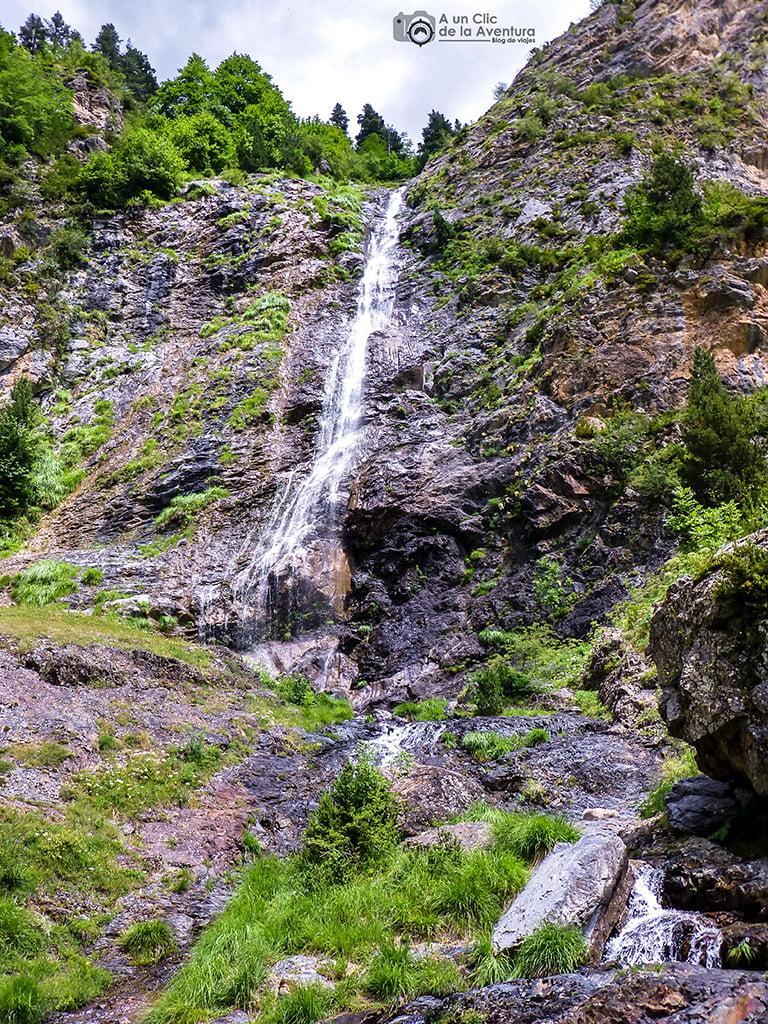 Salto de Pich, Cascadas del Pirineo Aragonés