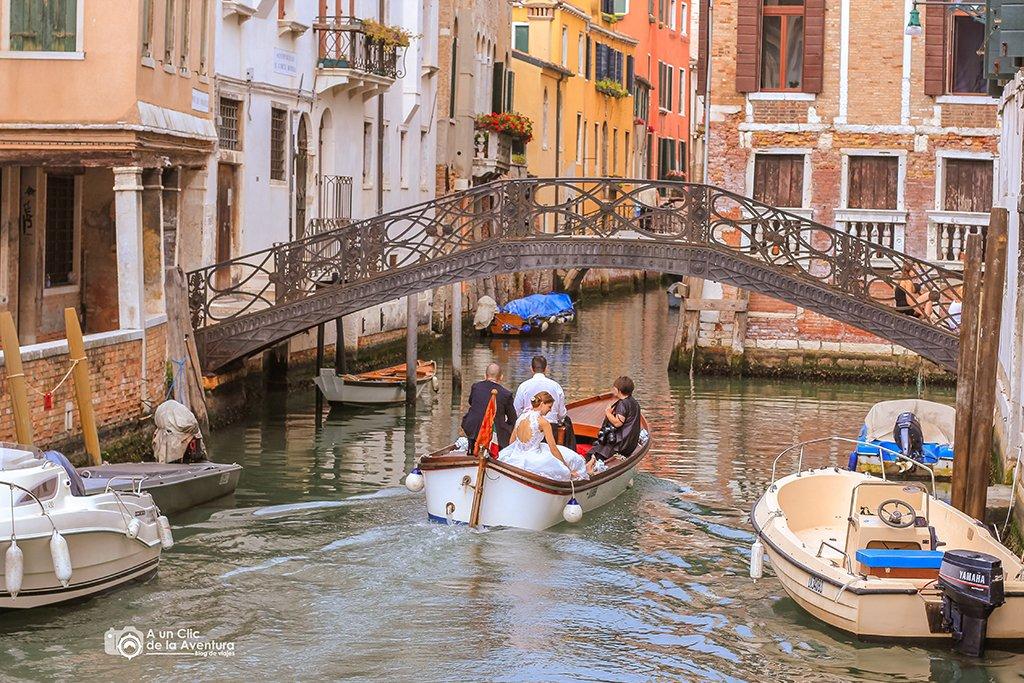 Canal de Venecia - viajar a Venecia