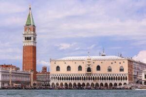 Plaza de San Marcos de Venecia desde el Gran Canal