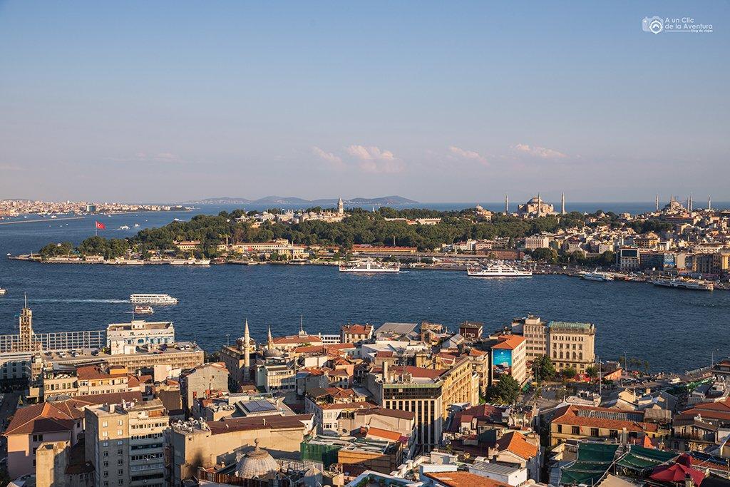 Cuerno de Oro, viaje a Estambul