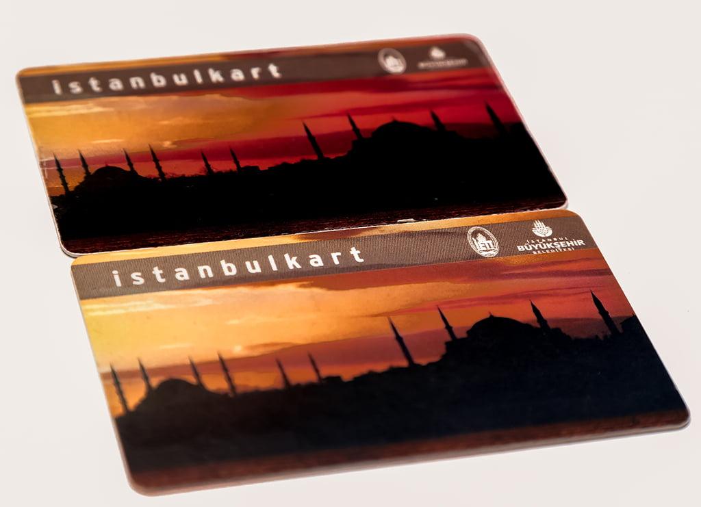 Istanbulkart - medios de transporte de Estambul