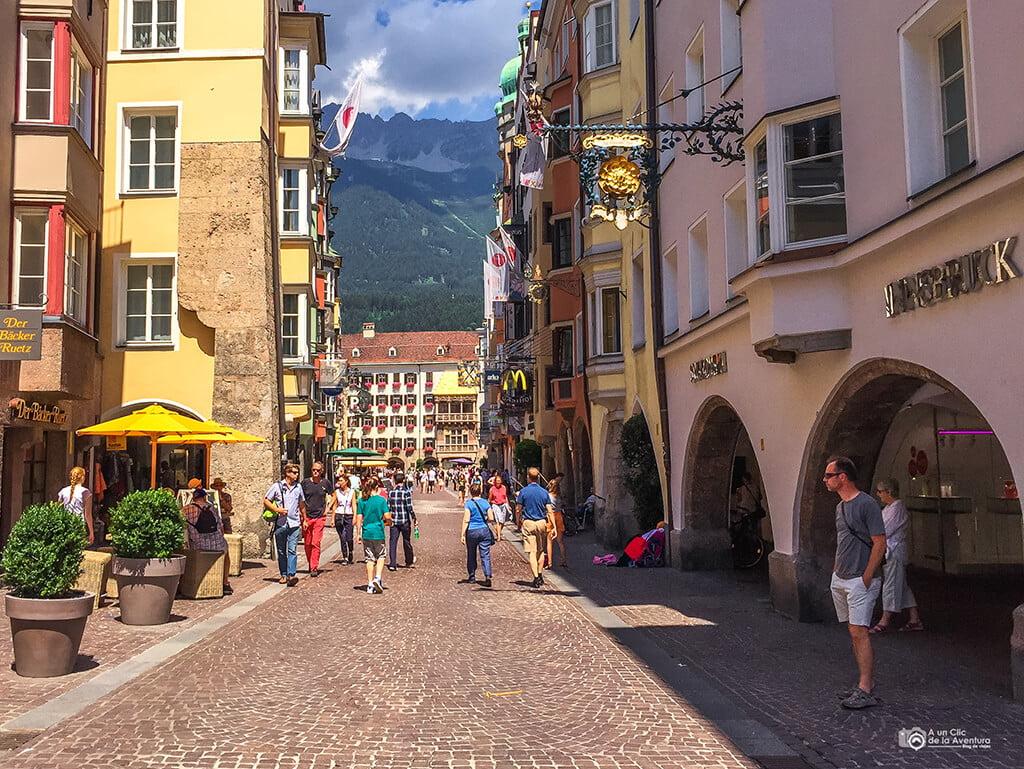 Centro histórico de Innsbruck - que hacer en Innsbruck